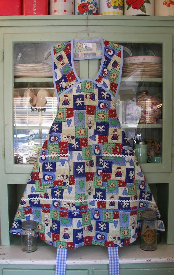 Apron in Christmas Spirit