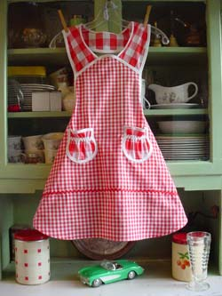 1940  in red gingham