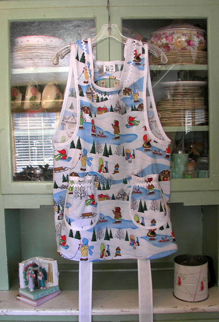 Grandma apron in Holiday Time