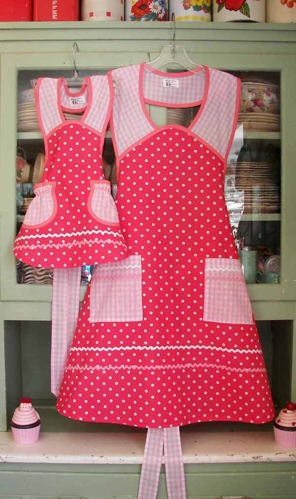Pink Polka Dot  and Pink Gingham