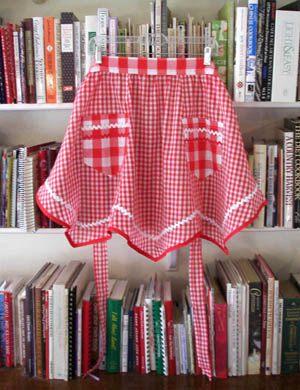 Victory red gingham